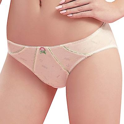思薇爾 棒棒糖輕甜風系列M-XL低腰三角內褲(奶油色)