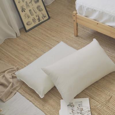 BUHO布歐 抗菌透氣可水洗壓花絲柔枕(2入)台灣製