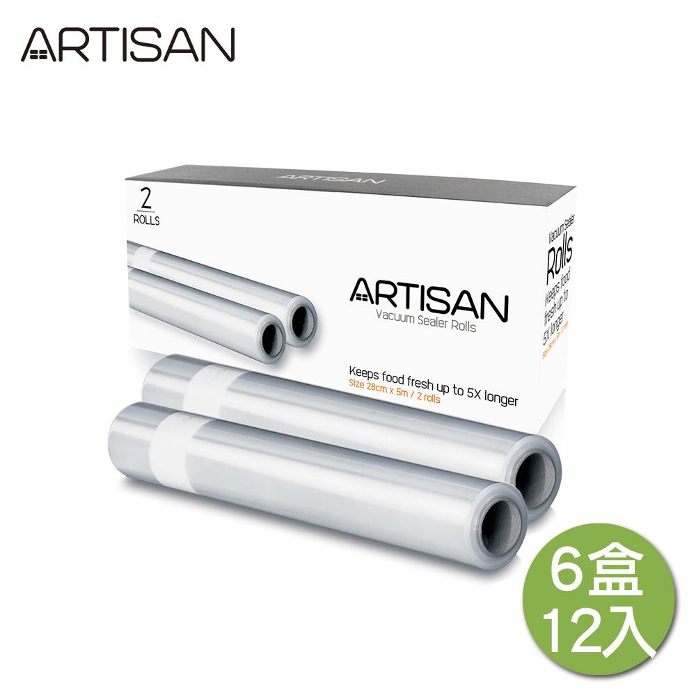 ARTISAN條紋真空包裝袋VBR2805(6盒/12卷)(1卷500公分) @ Y!購物