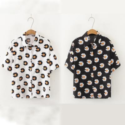 【韓國K.W.】(預購) 印象活力首選短袖襯衫上衣