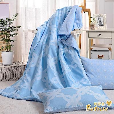 Betrise春風十里  3M吸濕排汗天絲四季被5X6.5尺(加碼贈天絲枕套X2)