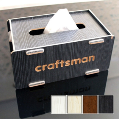 Reddot紅點生活  創意DIY木質面紙盒