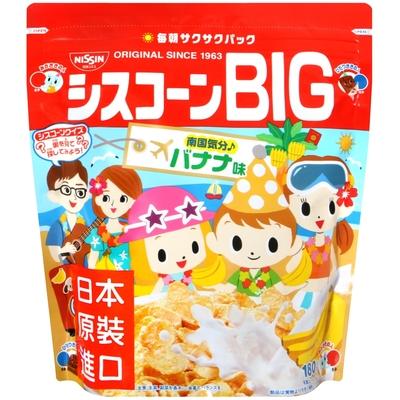 日清Cisco BIG早餐玉米片-香蕉風味(180g)