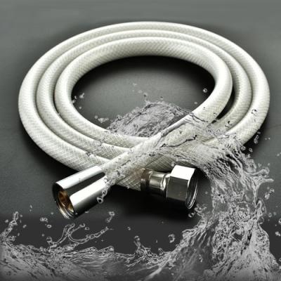 (超值2入)莫菲思 1.5MPVC防爆蓮蓬頭浴室軟管/大流量水管