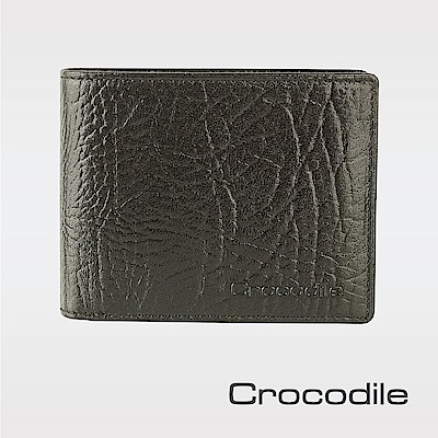 Crocodile牛頸紋系列抽取式短夾 0103-08904