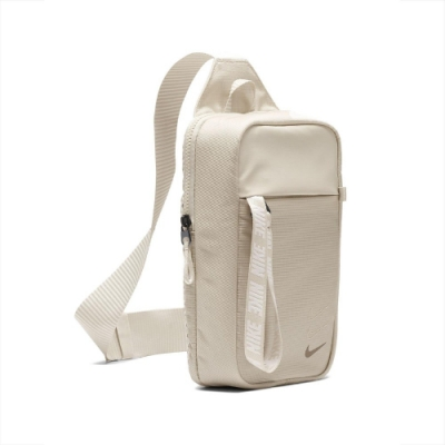 Nike 斜背包 Essentials Hip Pack NSW 外出 輕便 小包 穿搭 米 白 BA6144104