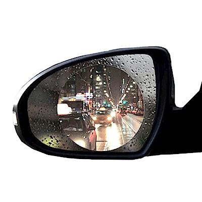 WIDE VIEW 奈米圓形後視鏡防雨膜防霧膜-兩片裝 (RF-100)