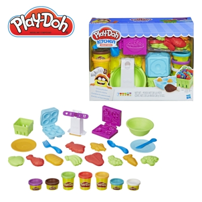 Play-Doh 培樂多-廚房系列-雜貨店 無毒黏土 創意DIY