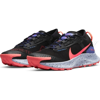 NIKE 慢跑鞋 女鞋 運動鞋 防水 越野 緩震 W PEGASUS TRAIL 3 GTX 黑 DC8794002