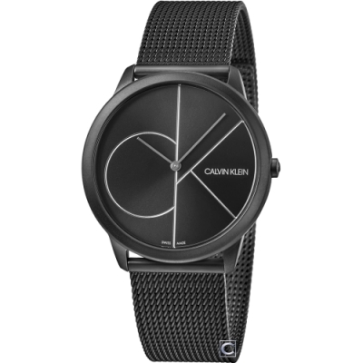 Calvin Klein minimal大 ck 簡約時尚手錶(K3M5T451)40mm
