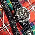 (無卡分期24期)SEVENFRIDAY M1/04 限量 PUNK 龐克工藝自動上鍊機械錶