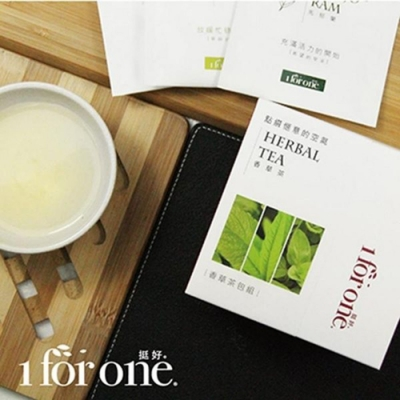 1 for one‧香草茶隨身組-綜合組(6包/盒,共2盒)