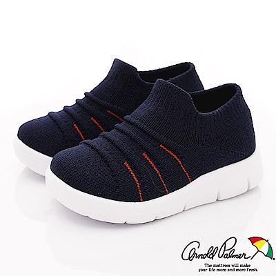 雨傘牌 專櫃針織休閒鞋款 EI93653深藍(小童段)