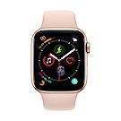 [無卡分期-12期] Apple Watch S4 GPS 44mm 金色鋁錶殼搭粉色錶帶
