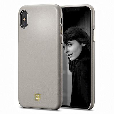 SGP / Spigen iPhone XS La Manon-仿皮手機保護殼