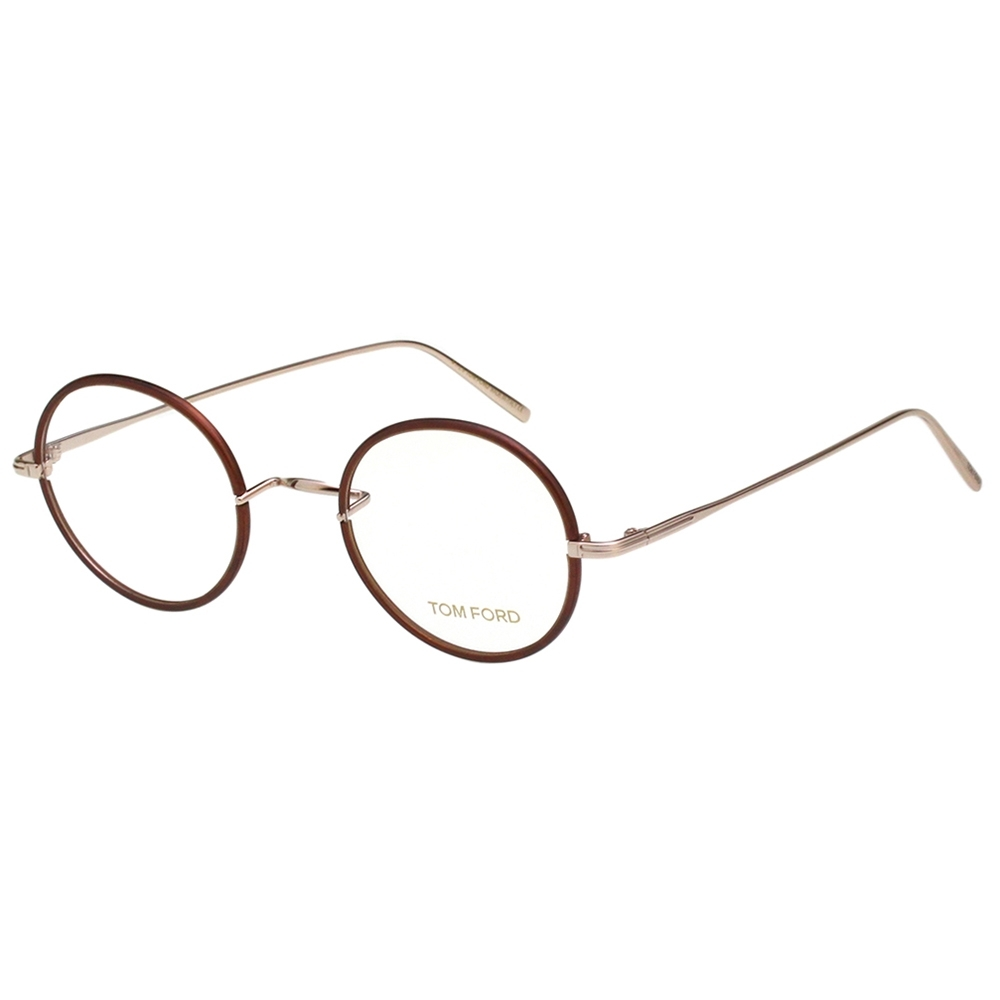 TOM FORD 復古 光學眼鏡(琥珀色)TF5569K