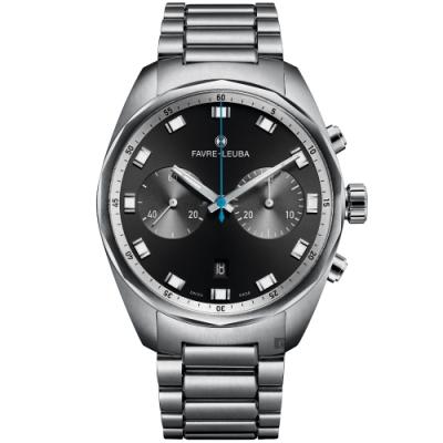 Favre-Leuba 域峰錶 Sky Chief Chronograph 雙眼機械計時手錶(00.10202.08.11.20)
