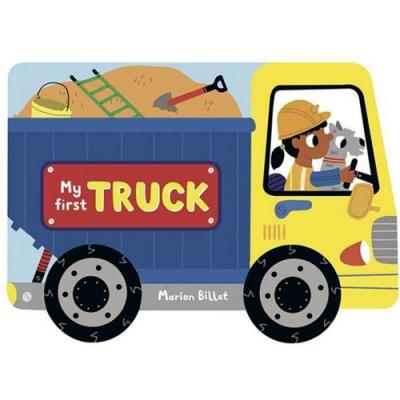 My First Truck 開卡車蓋遊樂場輪子轉轉硬頁書