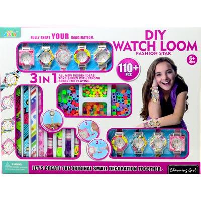 《Fashion Star》女孩最愛款DIY編織系列時尚手錶套裝組