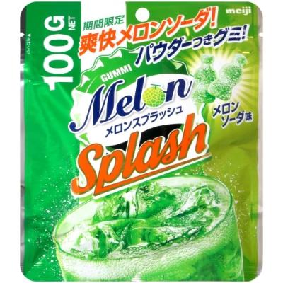Meiji明治 蜜瓜汽水風味造型軟糖(100g)