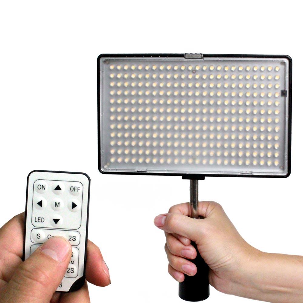YADATEK可調色溫平板LED攝影燈YL-288C (含電池)