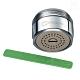 金德恩 台灣製造 花灑型出水可調式省水器 HP155 (附軟性板手) product thumbnail 2