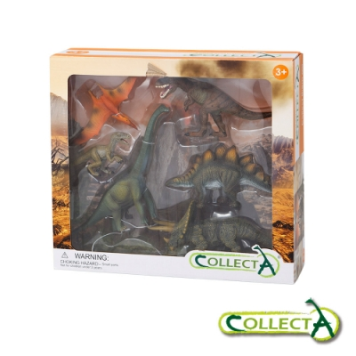 CollectA 恐龍禮盒組(6入)~英國高擬真模型R89494