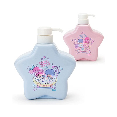 Sanrio 雙星仙子沐浴午茶系列星星造型擠壓空瓶(藍)