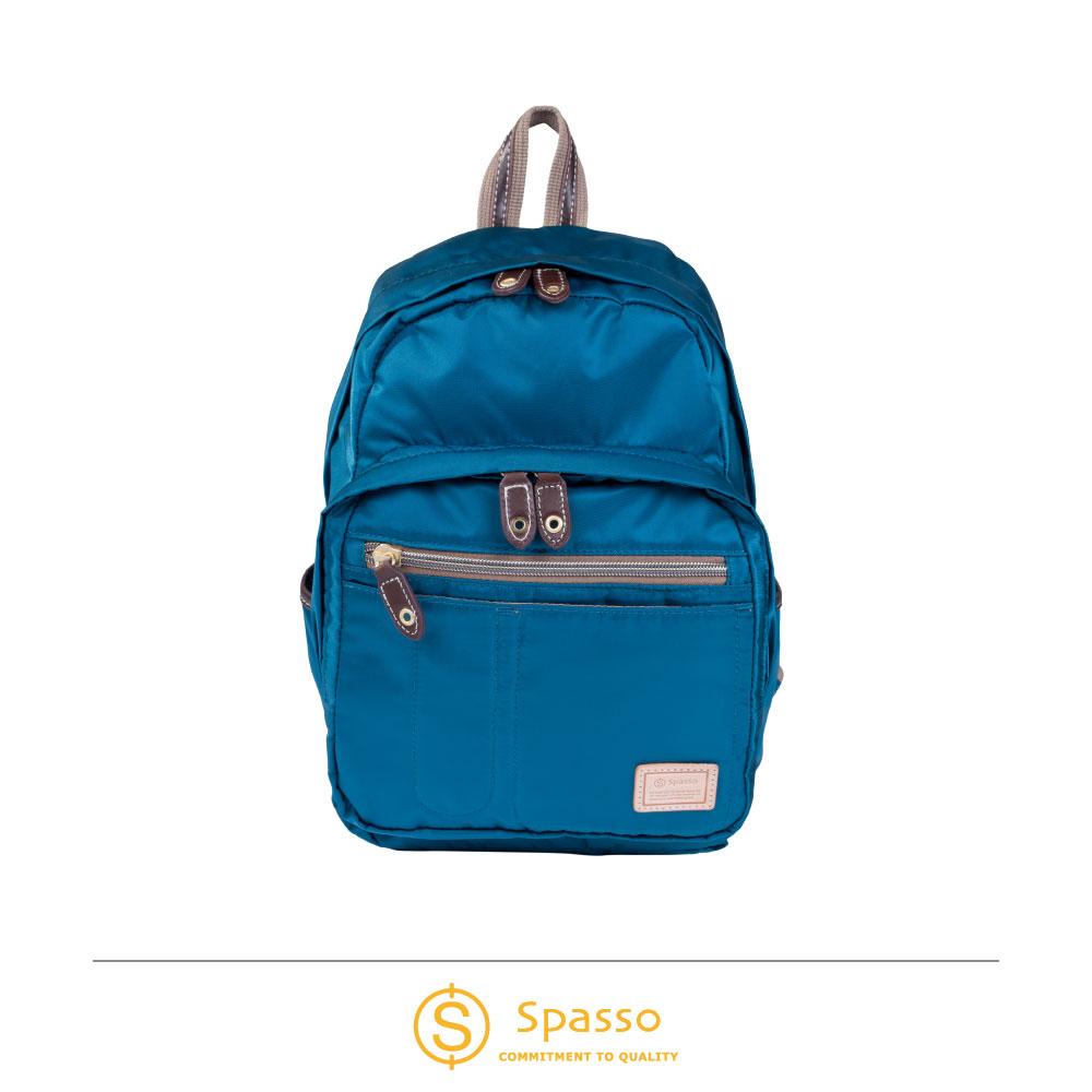 SPASSO 日本同步款 超輕量休閒後背包  藍色