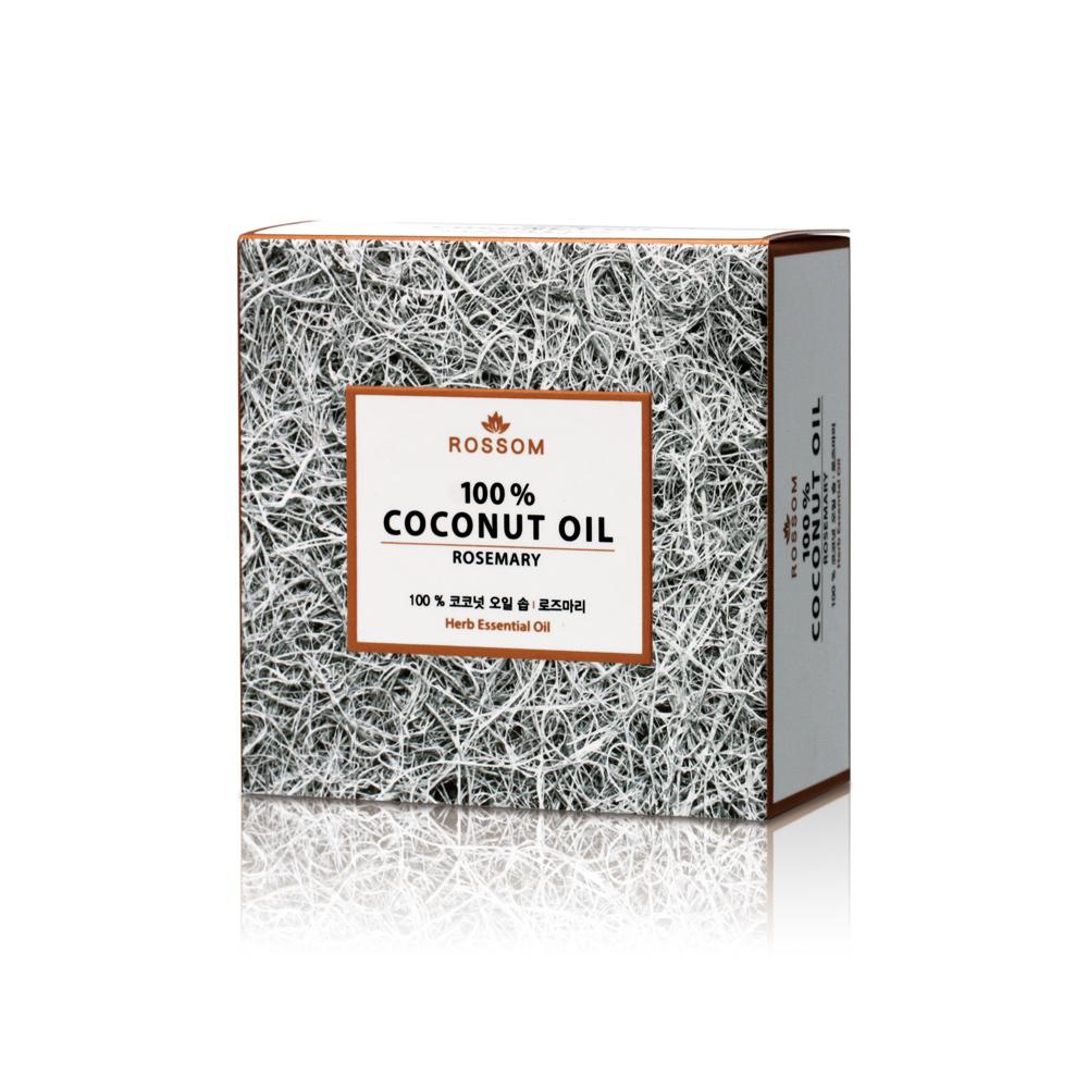 韓國ROSSOM-100%椰子油ByeBye粉刺彈力美顏皂(迷迭草)100g