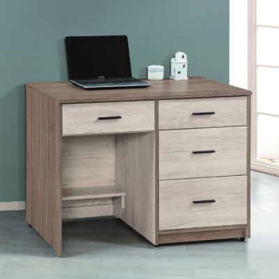 MUNA 艾妮雅雙色3.5尺書桌/辦公桌 106X60X78cm