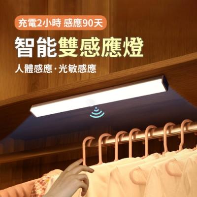 USB充電 磁吸式LED感應燈管 升級版多功能 小夜燈 宿舍燈 30cm