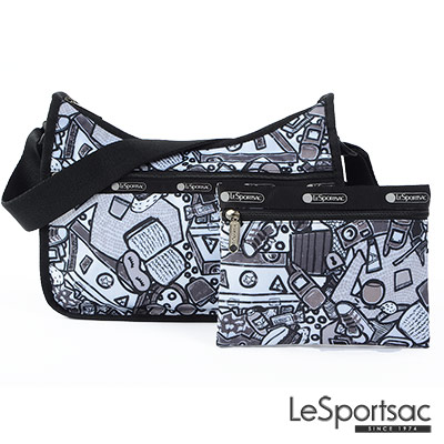 LeSportsac - Standard側背水餃包-附化妝包 (生活小物)