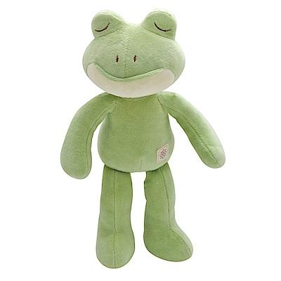 miYim有機棉安撫娃娃32cm-好夢蛙