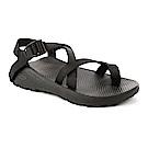 美國Chaco。男 越野舒壓運動涼鞋-夾腳款CH-ZLM02H407(黑)