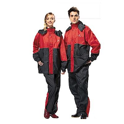 金德恩 達新牌 新采型 二件式休閒風雨衣 M~3XL 耐久防水/3M反光安全飾條