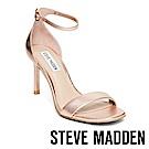 STEVE MADDEN-FAME 一字高跟涼鞋-金色