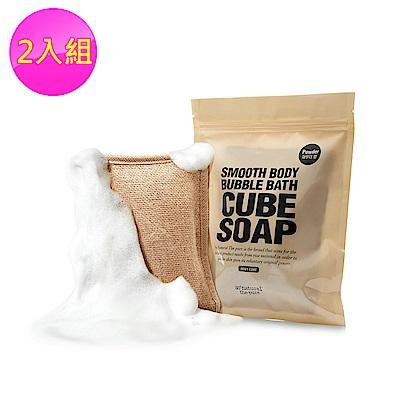 SO NATURAL 天然麻SPA泡泡搓澡皂#01 爽膚香 2入組