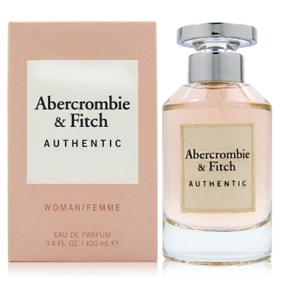 Abercrombie&Fitch Authentic A&F 真我女性淡香精100ml
