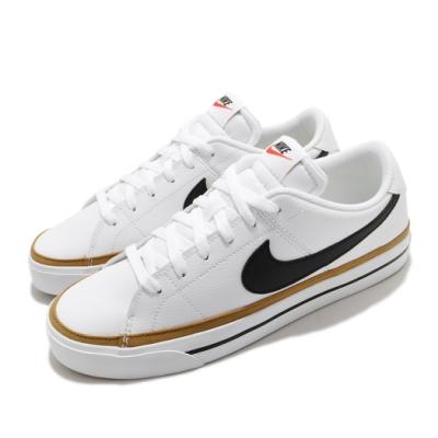 Nike 休閒鞋 Court Legacy 運動 男鞋 基本款 簡約 舒適 球鞋 穿搭 白 棕 CU4150102