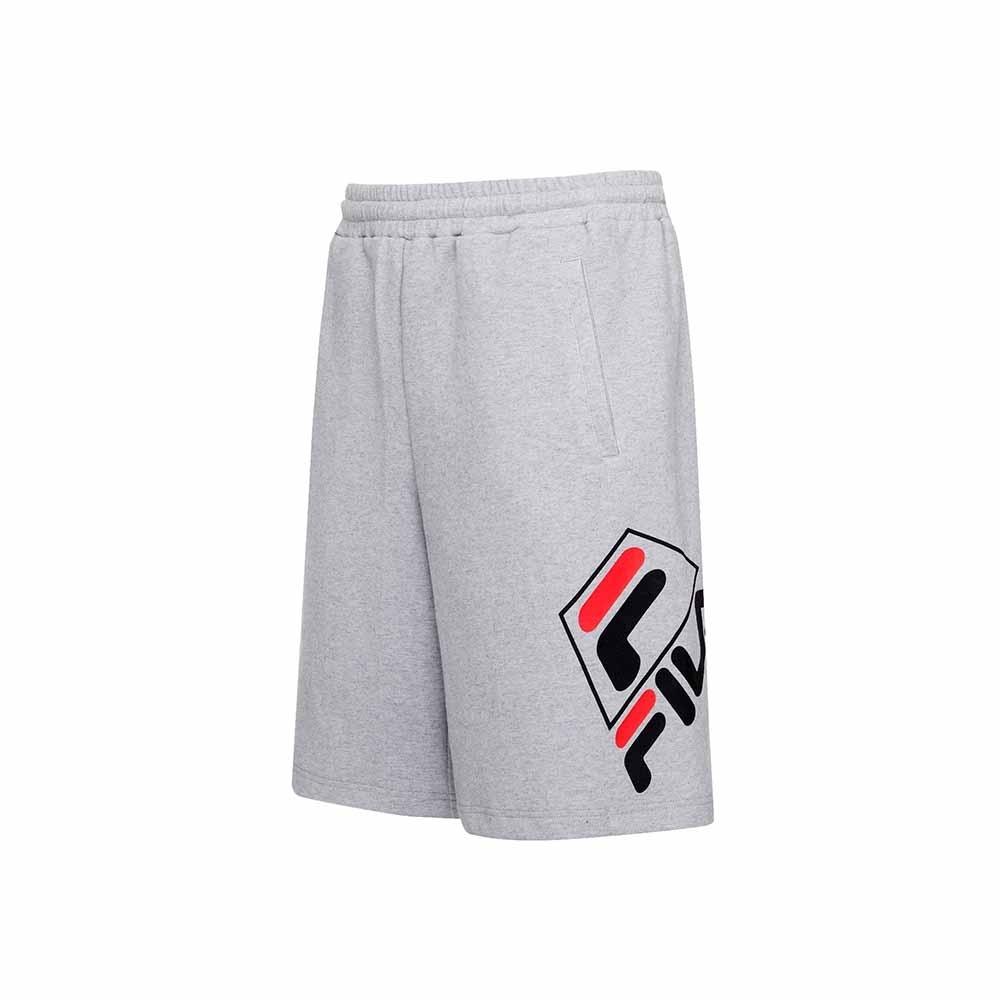 FILA 針織短褲-麻灰 1SHU-5453-MY
