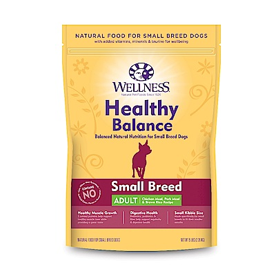 Wellness 健康均衡 小型成犬 經典美味食譜 12磅