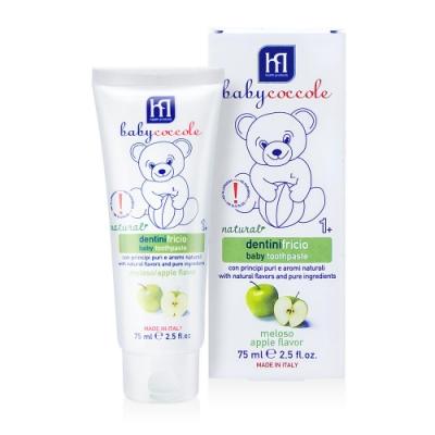 寶貝可可麗 babycoccole 寶貝水果膠牙膏-青蘋果口味 (1-3歲適用)