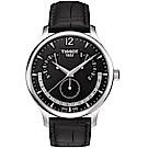 TISSOT天梭Tradition系列永恆日期腕錶(T0636371605700)
