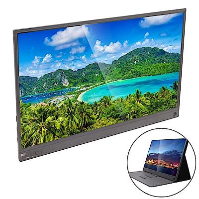 IS愛思 PLAYTV-A 15.6吋超薄型可攜式行動液晶螢幕 (附可立式螢幕支架皮套)