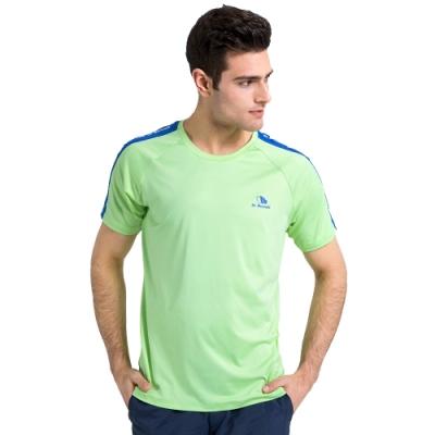 【St. Bonalt 聖伯納】涼感機能速乾圓領T恤 (16127171 - 淺綠) 男款 吸濕 排汗 速乾 涼爽 夏天必備