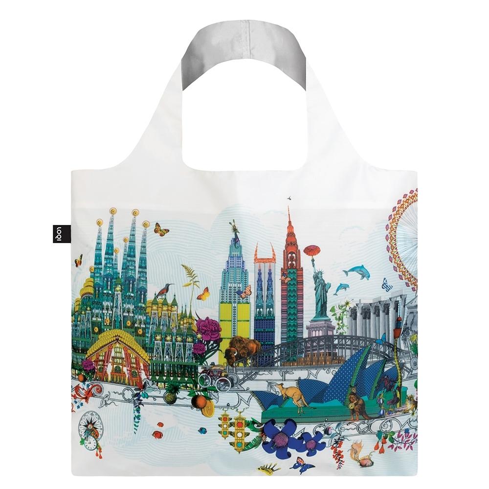 LOQI 春捲包 購物袋  天際線 KWWS
