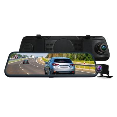 CARSCAM行車王 CR14全螢幕電子式觸控1080P後視鏡行車記錄器