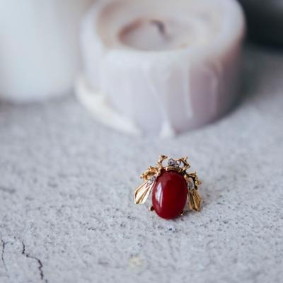COR-DATE-淘氣戒指-紅瑪瑙