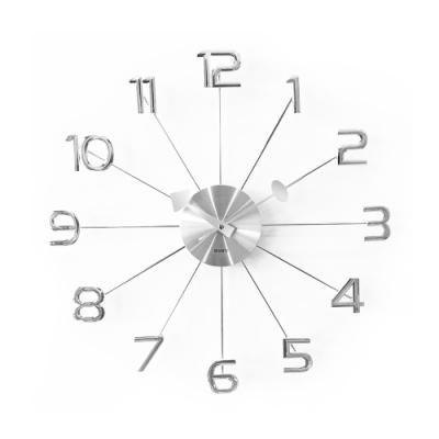 完美主義 細緻數字設計款掛鐘/時鐘/壁鐘/阿拉伯數字